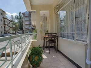 kilimani one bedroom furnished apartment for rent
