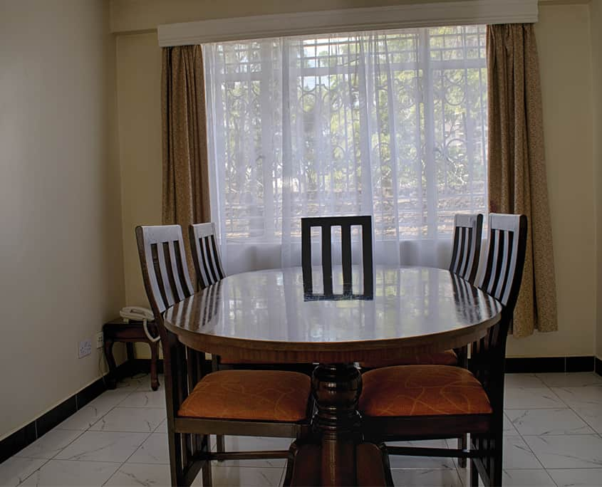 Furnished apartment in Nairobi